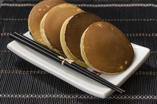 pancakes dorayaki