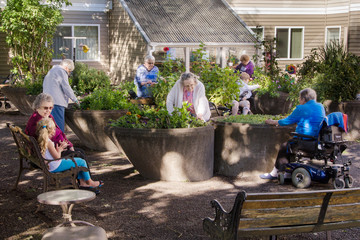 Assisted Living Gardening Group