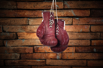 art boxing glove for home decoration