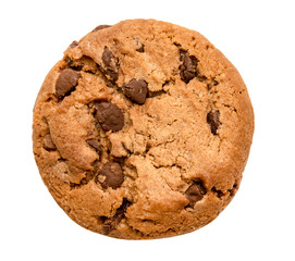 Fotobehang Koekjes chocolate chip cookie