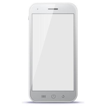 Smart Phone Vector Illustration.
