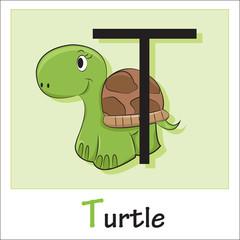 Alphabet-letter T