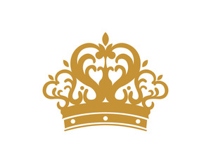 Golden Tiara Crown