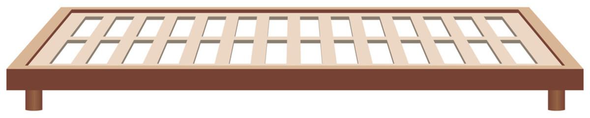 Frame bed frame wood