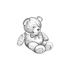 Doodle Teddy bear