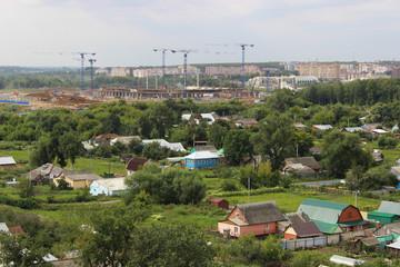 construction of stadium