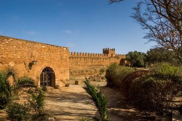 The marinid necropolis at Chellah, Rabat
