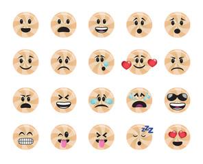 Set of lollipop icons