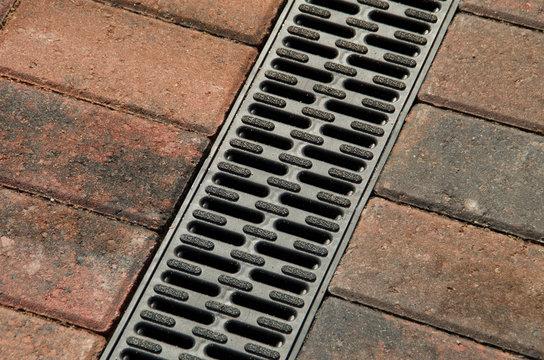 block paving drain