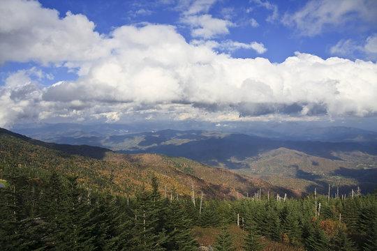 Mount Mitchell in North Carolina