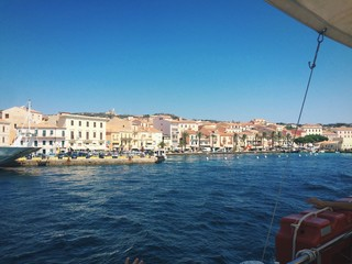 Vista di La Maddalena