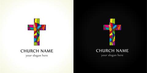 Church cross  color