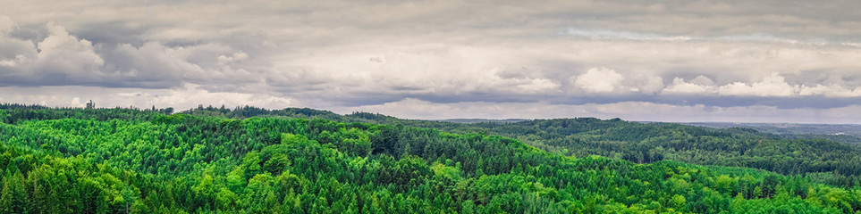 Panorama landscape from Denmark