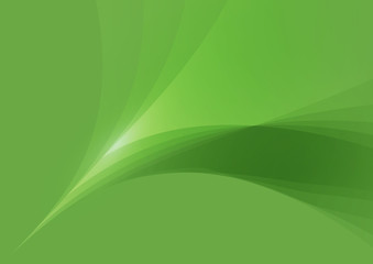 Abstract Shape Green Background