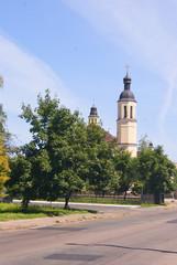 building of catholic church in Chernihiv