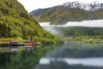 Fjord Landschaft Norwegen
