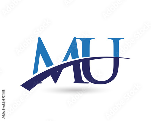 mu logo letter swoosh stock image and royalty free vector files on rh fotolia com mu logo vector mulago