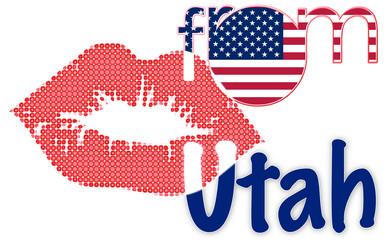 Kiss from Utah