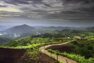 Landscape Khao Kho  Thailand.