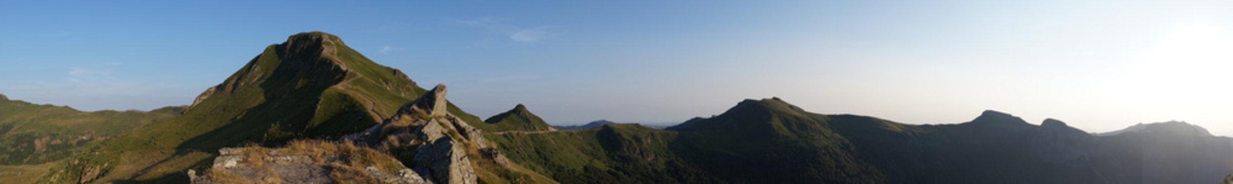 Coucher de soleil au Puy Mary