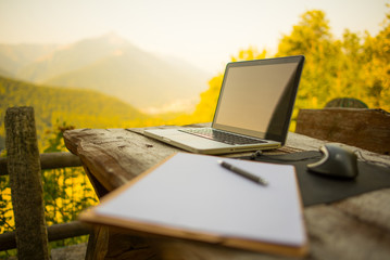 Work and Nature - Noteboook