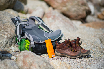 Hiking - Backpack and Shoes