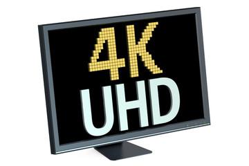 4K Ultra HD concept