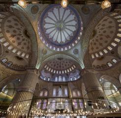 The Blue Mosque Interior