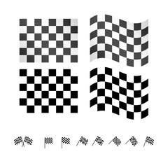 Checkered Flags EPS 10