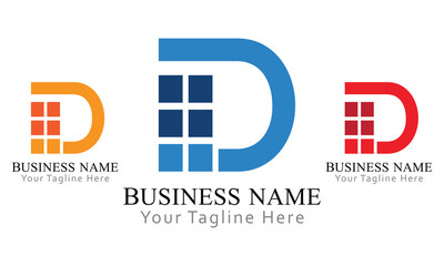 D Block Logo Business
