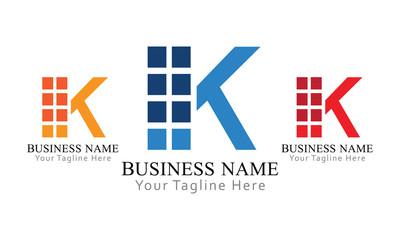 K Block Logo Business