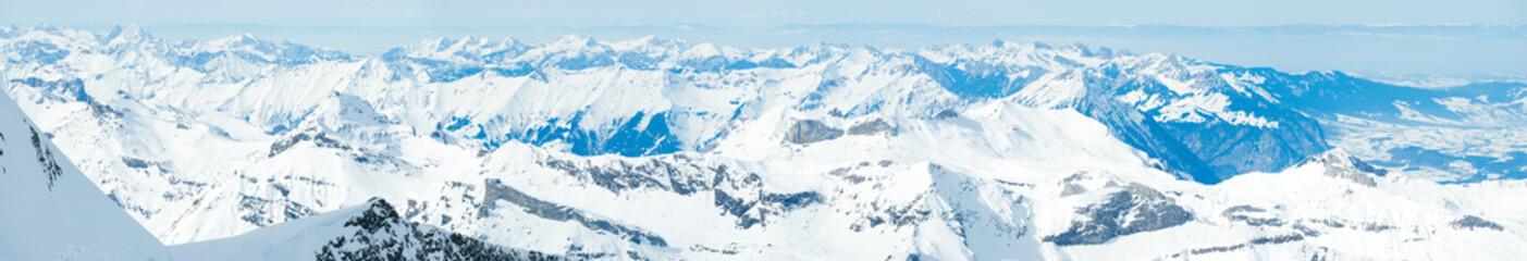 Swiss Alps mountain landscape, Jungfrau, Switzerland