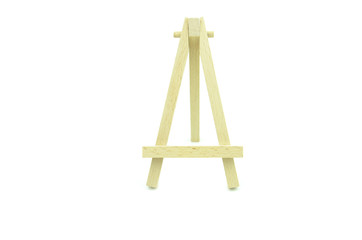 wooden canvas frame stand