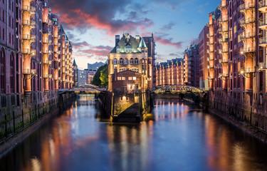 Hamburg Speicherstadt Weltkulturerbe