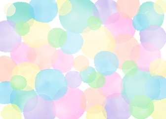 水玉 背景 dots background