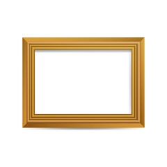 Vector Illustration of a Picture Frame