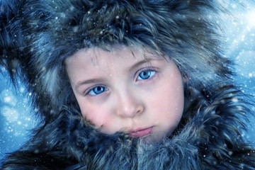Just a little Inuit-girl