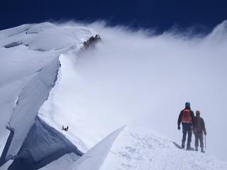 Foto op Aluminium Alpinisme Chamonix Mont Blanc