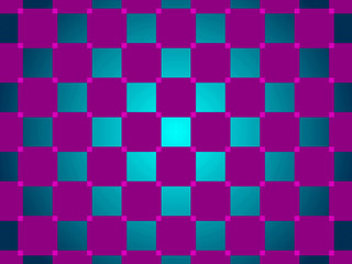 green and purple abstract background, squares