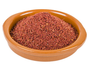 Sumac - Middle Eastern spice used to to add a lemony taste to salads or meat.