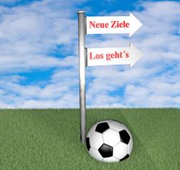Fußball Ziele
