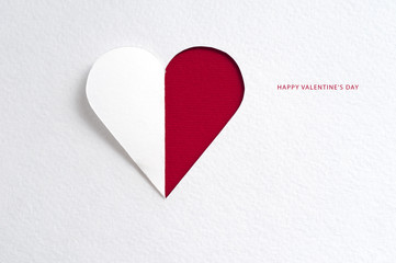 Holiday Card. Valentines day
