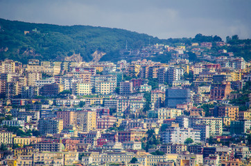 Harbor of Naples, Italy