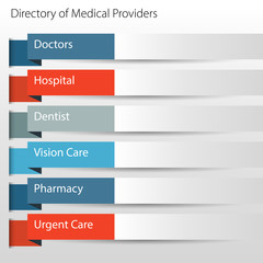 Healthcare Directory Medical Providers Icon