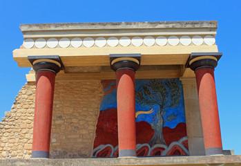Knossos, Crète