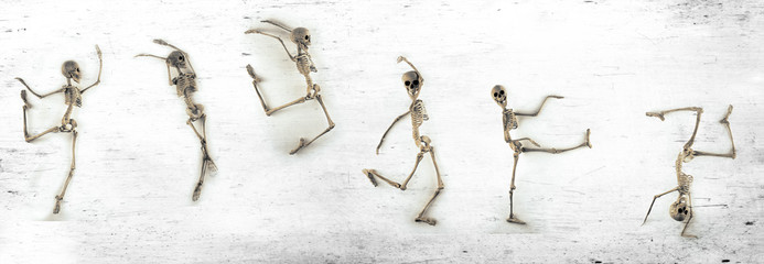 Dancing Skeleton