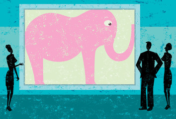 Ignoring the pink elephant in the room