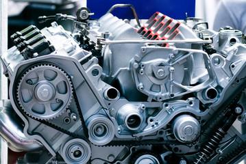 Cut metal engine