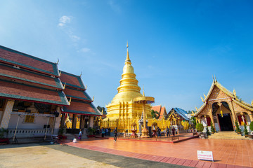 wat phra that haripunchai  is a lanna style temple in lamphun ,