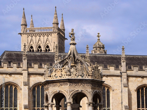 Cambridge University Details Of Gothic Architecture